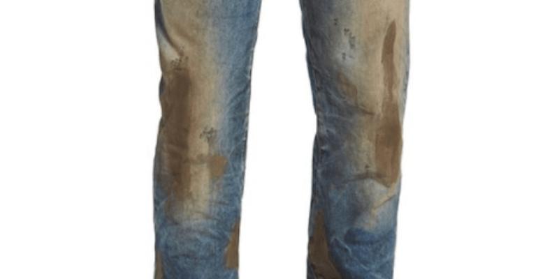 Nordstrom muddy jeans