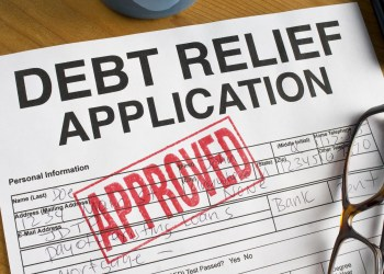 Debt Relief paperwork