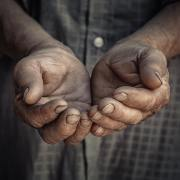 hands-asking-money