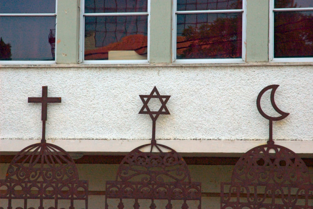 symbols of three religions