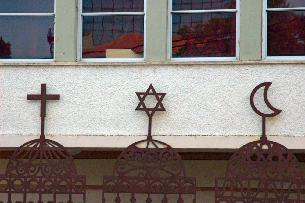 symbols of three religions