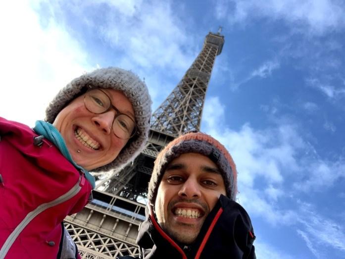 Me and Jit in Paris