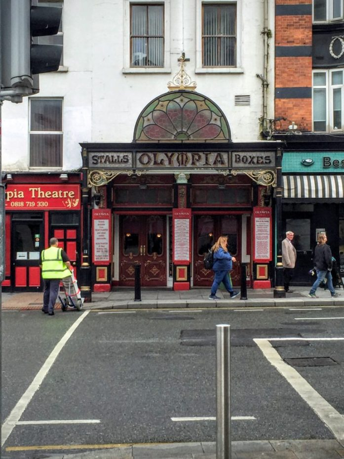Dublin by Foot - A free walking tour with Dublin Discovery Trails | Olympia Theatre | The Urban Wanderer | Sarah Irving