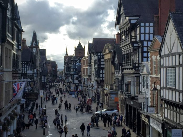 To Chester to walk the walls   Chester   The Urban Wanderer   Sarah Irving