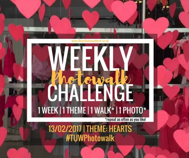 The Urban Wanderer Weekly Photowalk Challenge #11 Hearts | Get Outside | Photography Challenge | Explore your area | Sarah Irving The Urban Wanderer | Manchester Blogger Outdoor Blogger | #TUWPhotowalk #lookup #lookupmcr