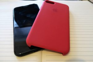 October Buys | Product RED iphone cover and iPhone 7