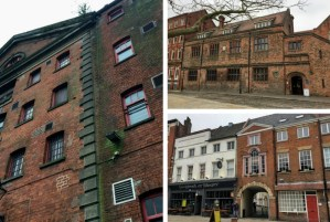It is never dull in Hull | Old warehouses and mil buildings with red bricks