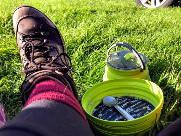 Review Lilicious   freeze dried camping food   Dried berries   The Urban Wanderer   Sarah Irving   UK   Outdoor Blogger   Travel Blogger   Manchester Blogger