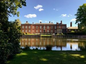 Dunham Massey Hall reflecting in the lake
