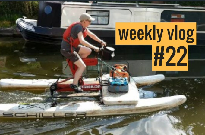 Bristol Visit, Waterbike, Staying Cool | The Urban Wanderer Weekly Vlog 22