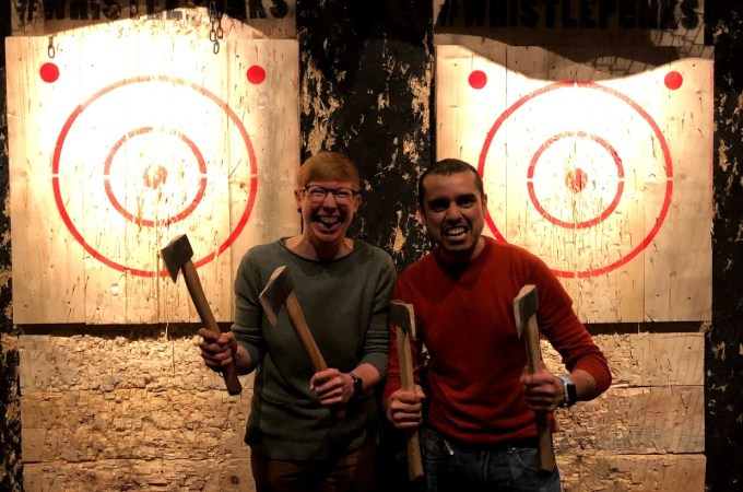 Buckt | Axe Throwing at WhistlePunks