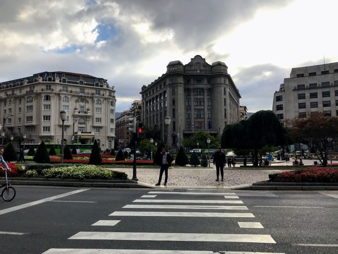 Hotel Carlton on the left