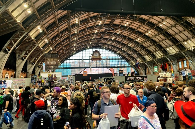My first Manchester Comic Con
