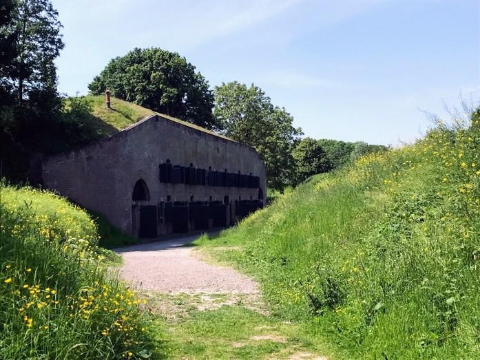 乌得勒支的堡垒反映在2019年