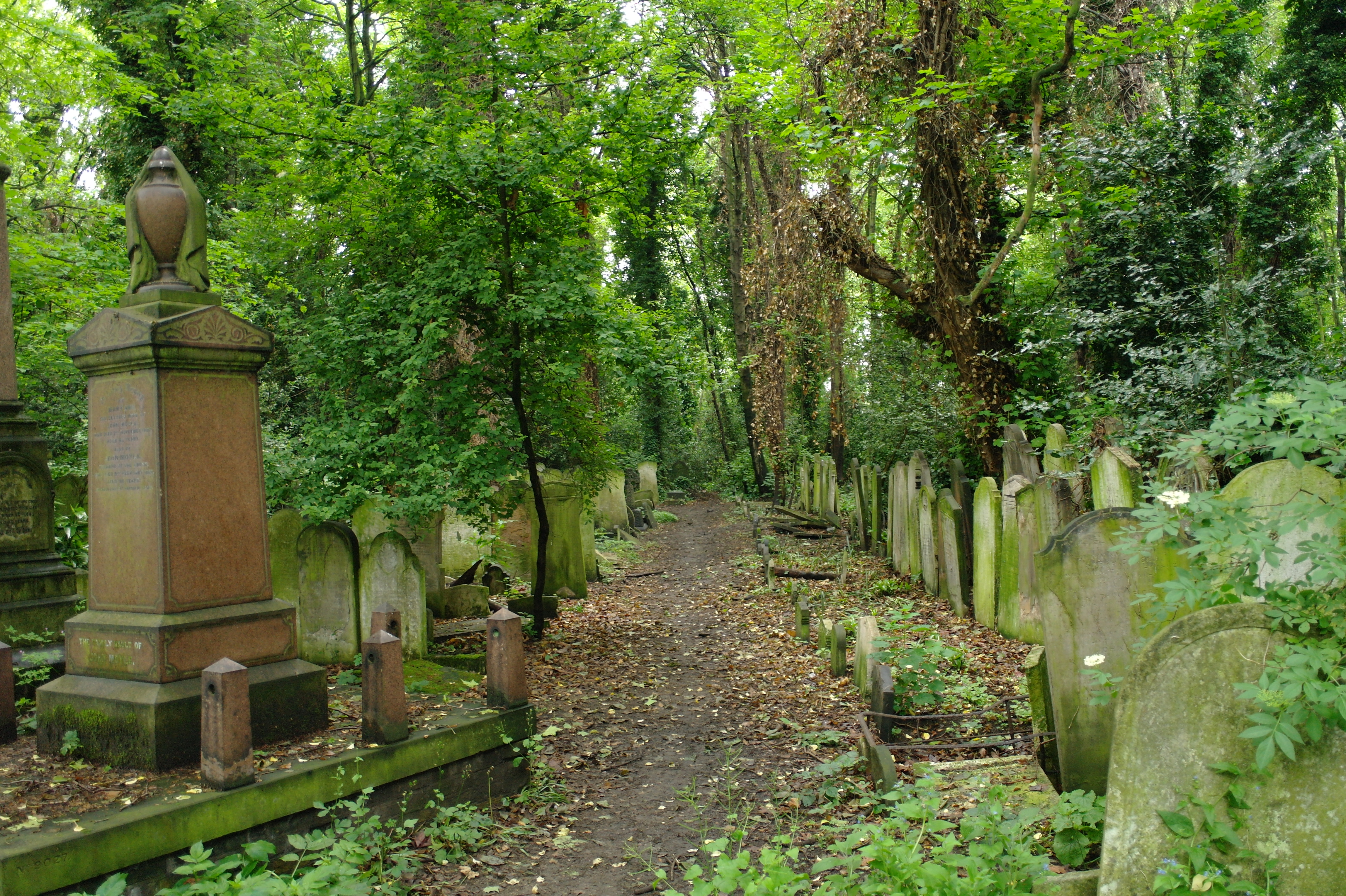 London Cementeries Halloween 2016 Abney Park Creative Commons by martin_vmorris