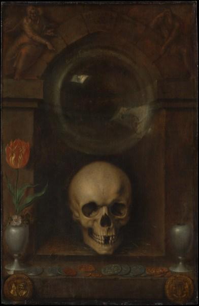 Vanitas Still Life by Jacques de Gheyn II, 1603. Oil on wood.