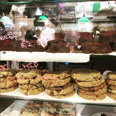 Cookies and Scream Vegan Gluten and Wheat Free Bar in Camden Market London