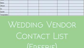 wedding vendor research freebie the urben life