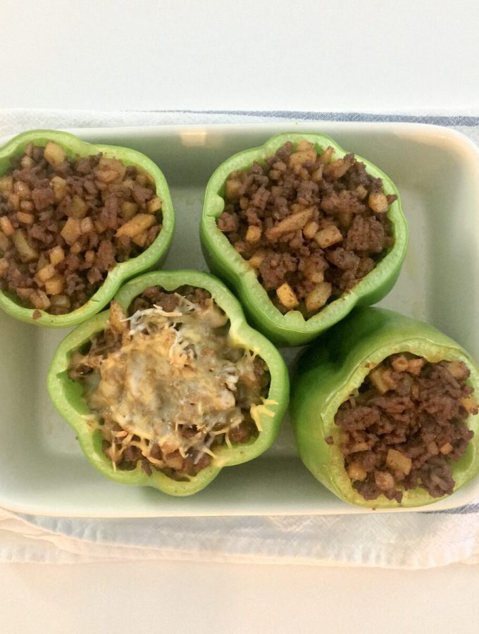 Mexican Style Stuffed Peppers Recipe