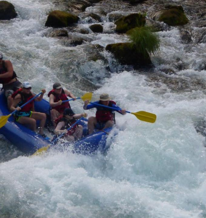 Whitewater Rafting on The Upper Clackamas River
