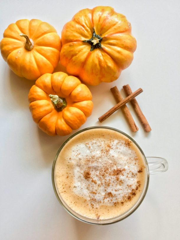 How to make the best homemade Pumpkin Spice Latte that's vegan and better than Starbucks. Enjoy the fall flavors at home!