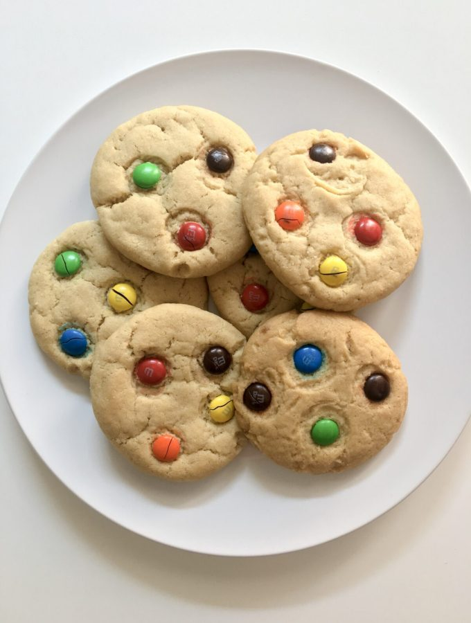 The Best Allergy-Friendly M&M Cookies