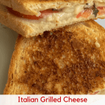 Simple Italian Grilled Cheese Sandwich (Vegan)