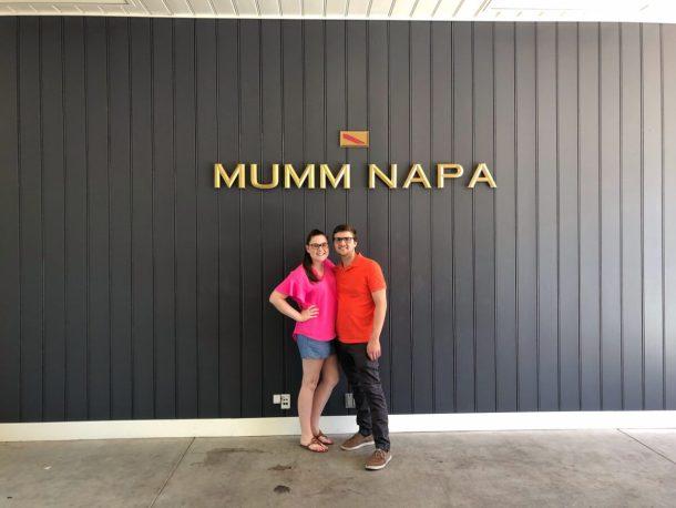 Mumm Napa Valley Sparkling Wine Tasting