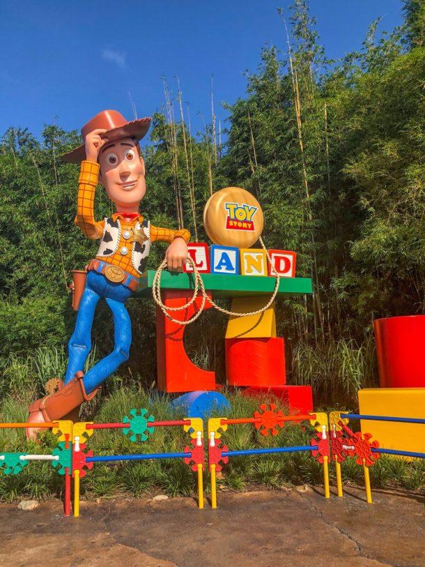 toy story land, walt disney world, hollywood studios