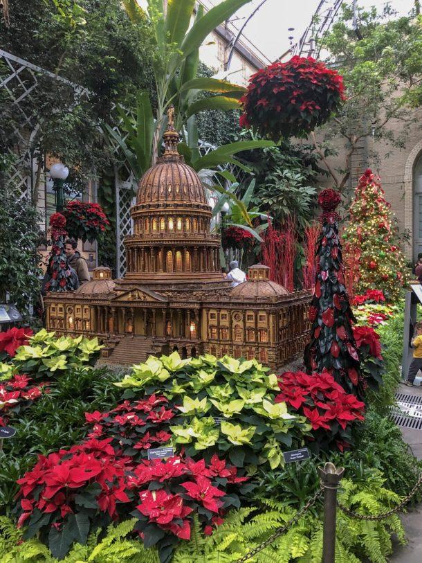 United States Botanic Garden during the Holidays Washington DC