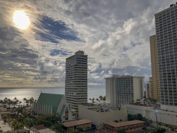 View from Waikiki Beach Marriott Resort Spa #TheUrbenLifeBlog