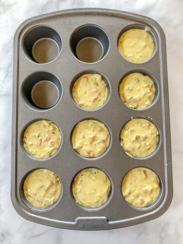How to Make Eggless Breakfast Muffins