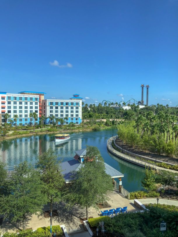View from Sapphire Falls Universal Orlando Resort