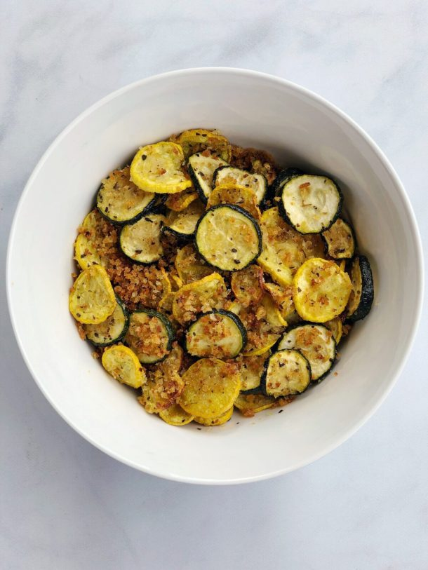 Crispy Baked Zucchini and Squash