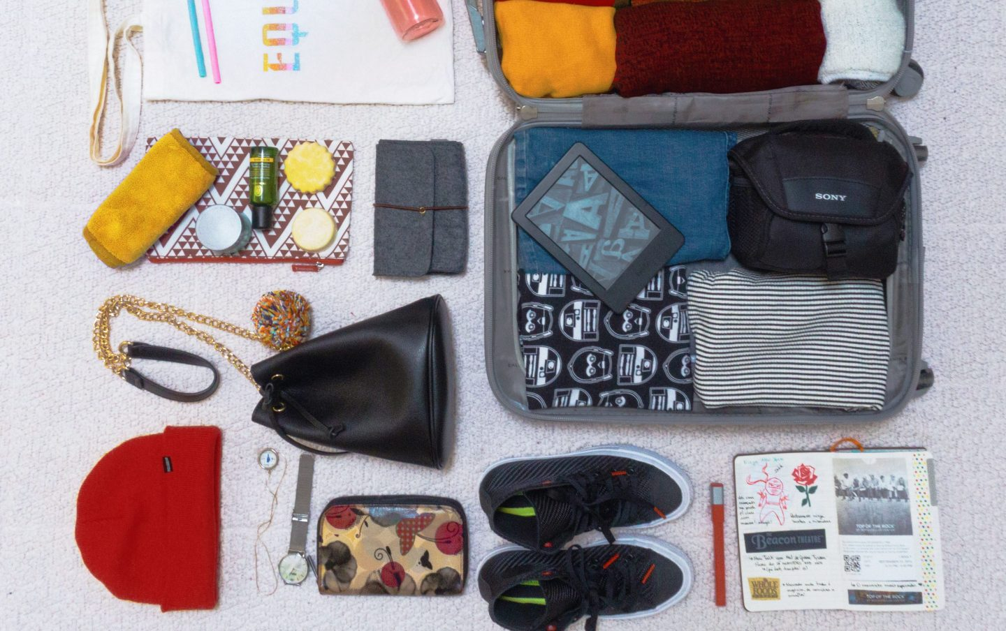 How to pack light and be an eco-friendly traveler