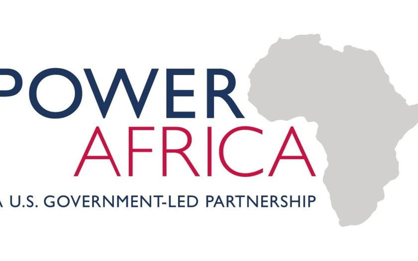 The logo for Power Africa: A U.S. Government-Led Partnership.