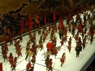 Battle scenes in the museum