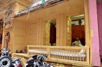 Old fashioned shopfront, Varanasi