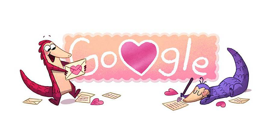 How To Play Valentines Google Doodle Starring The Pangolin