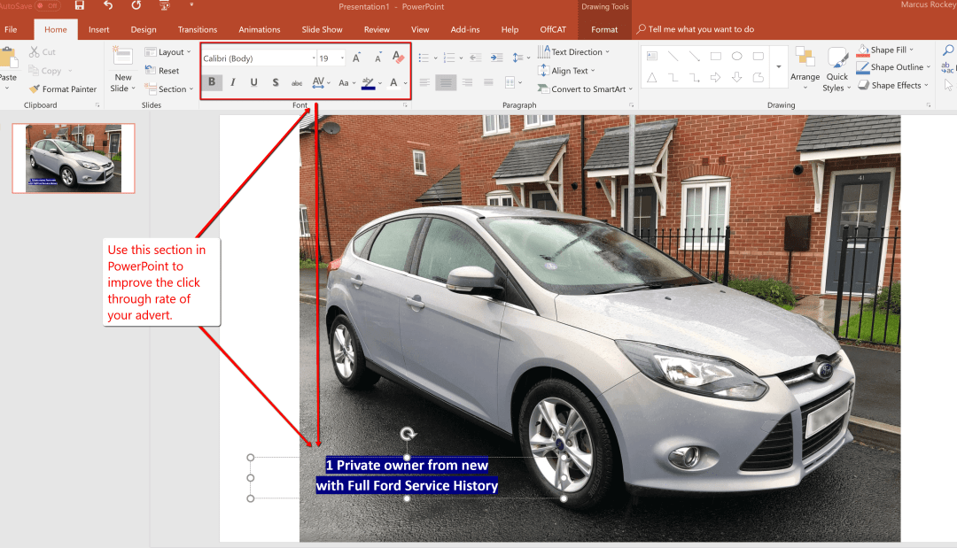 secret to creating a high converting Autotrader car profile image