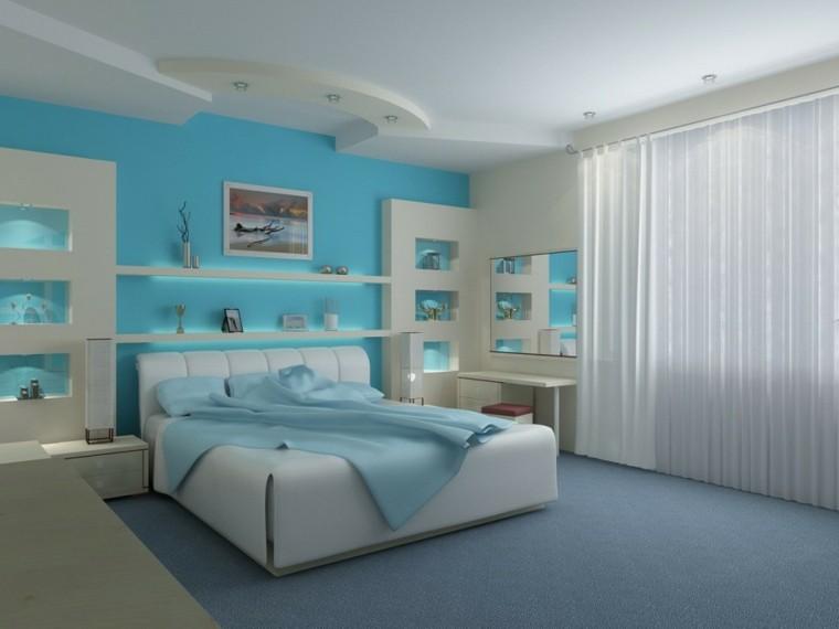 bedroom design celestial wall