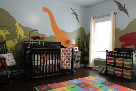 Tips for decorating babies Dinosaurs
