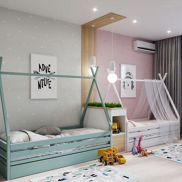 Original children's rooms