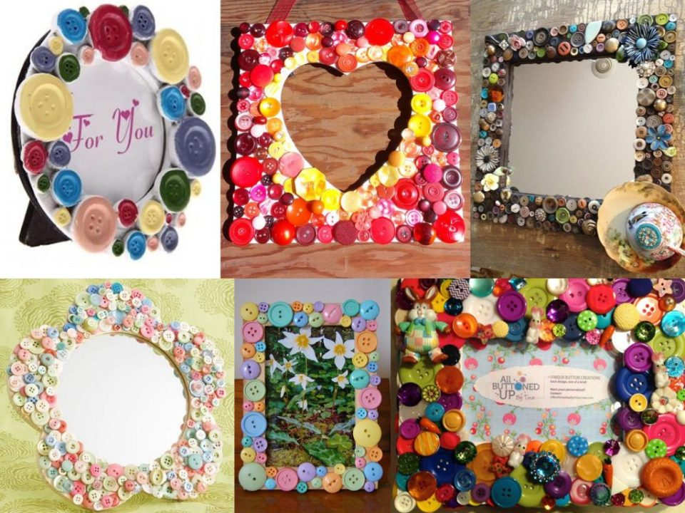 photo frames with buttons