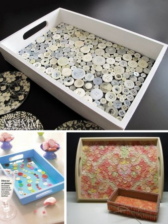 make trays with buttons