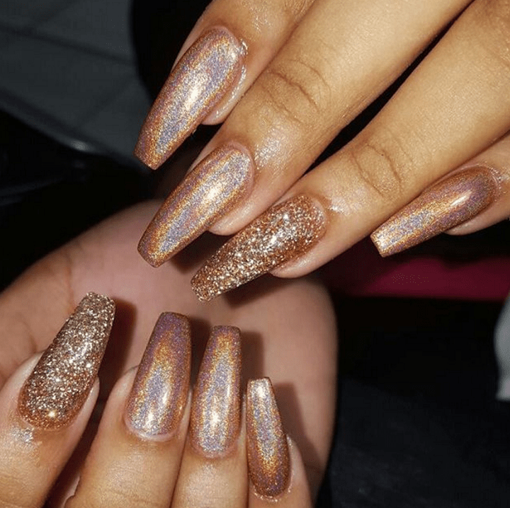 decorated nails ideas modern parts