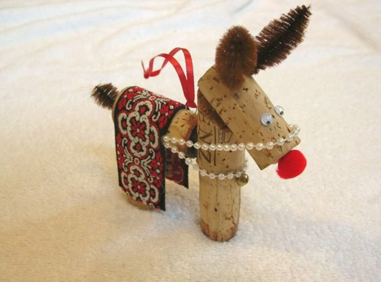 DIY wine cork toys