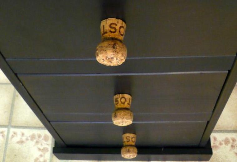 Cork handles