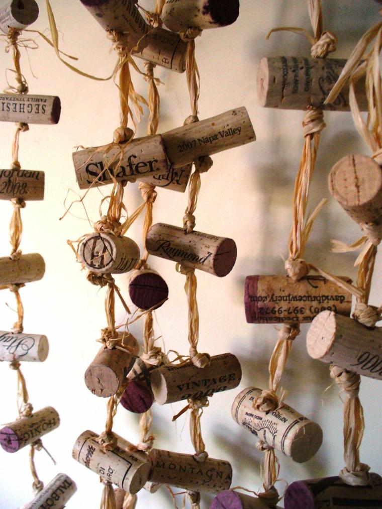 ideas with wine corks