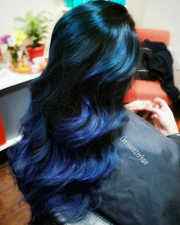 colors-of-hair-black-blue